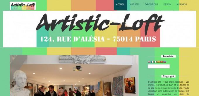 Le site artistic-loft