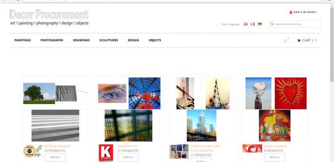 les e-shop decorprocurement.com